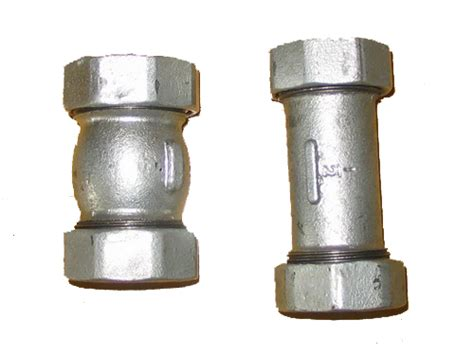 Dresser Coupling Galvanized Pipe by 3 4 Quot Galv Leaks At Fitting Help Ridgid