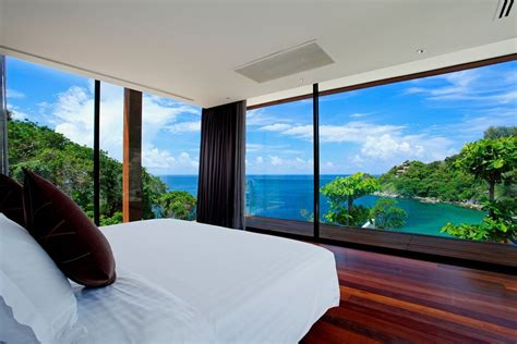 bedroom view luxury bedroom and beautiful beach view home design