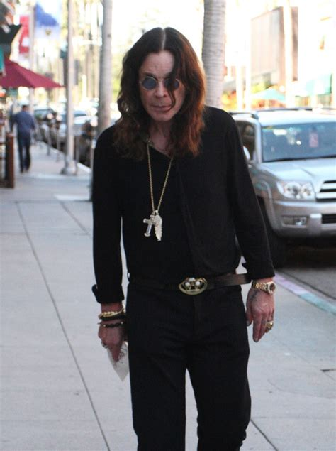 Style Osbourne by Ozzy Osbourne Photos Photos Ozzy Osbourne Out And About