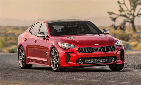 Lease A Kia by 2018 Kia Stinger Lease Deals Start From 382 A Month