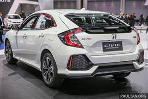 bangkok 2017 honda civic hatchback 1 5l turbo