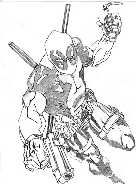 deadpool by spikemcfly on deviantart
