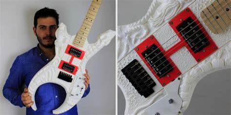 amazing  printed guitar design  based  hp