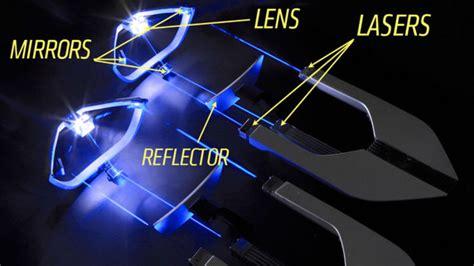 bmw laser headlights bmw bringing laser headlight technology to motorcycles