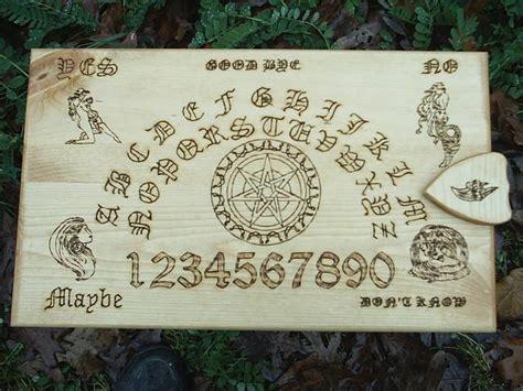 Handcrafted Ouija Boards - faery magick spirit board ouija board