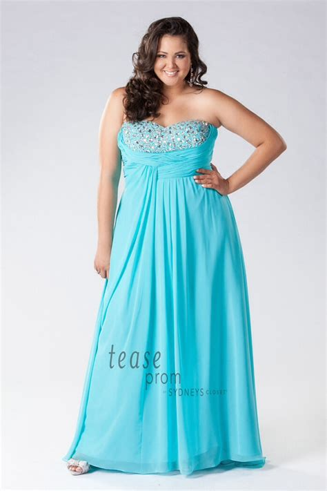 Frozen Themed Plus Size Prom Dresses