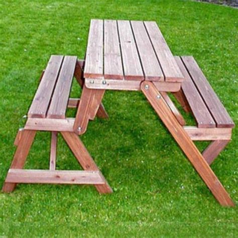panchine in legno da esterno panchina da giardino trasformabile in tavolo e due panche