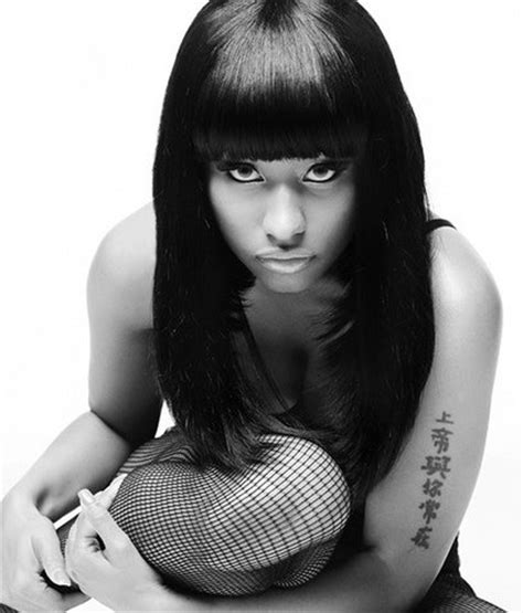 nicki minaj s chinese arm tattoo