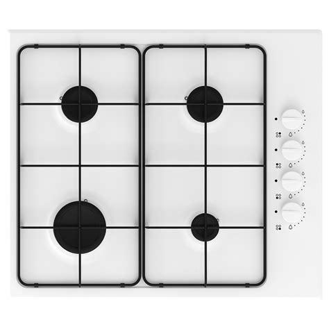 lagan gas hob white ikea