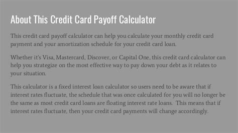 credit card payoff calculator with payments credit card payoff calculator calculate your credit card
