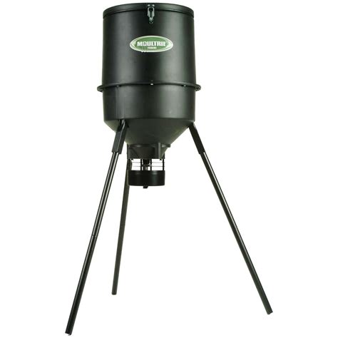 Tripod Feeder moultrie 174 pro magnum 30 gal tripod feeder with tapered hopper 200 lb capacity 127685