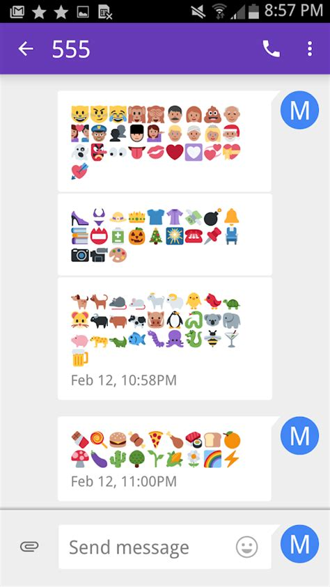 emoji font for android emoji fonts for flipfont 6 android apps on play