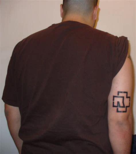 rammstein logo tattoo by nokturnalwun on deviantart
