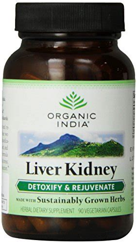 Organic India Liver Kidney Detox And Rejuvenate Reviews by Organic India Liver Kidney 90 V Caps Bettys Health Store