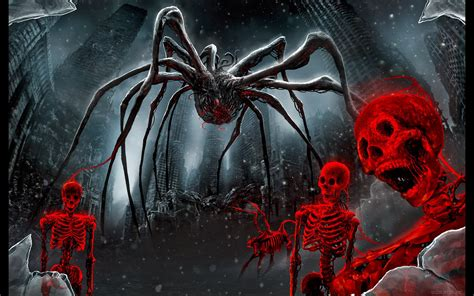 what color is spider blood spider and skeletons wallpapers and images