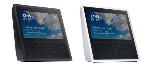 amazon echo show amazon unveils 7 inch touchscreen echo show with alexa support