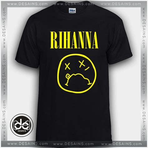 T Shirt Nirvana Logo cheap shirt rihanna logo nirvana custom t shirt