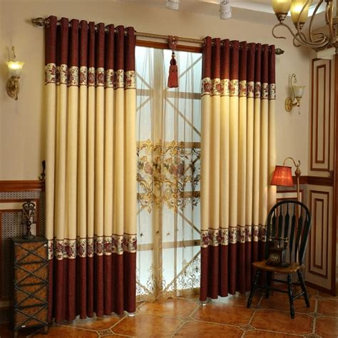 linen luxury curtains cotton and linen materials luxury window curtains designs