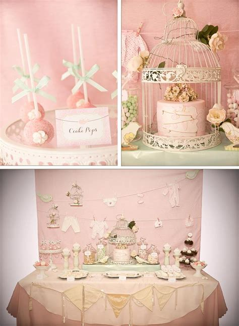 vintage baby shower ideas kara s ideas vintage birdie baby shower