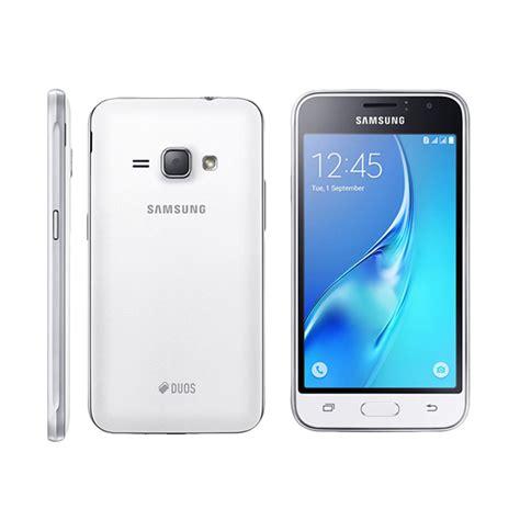 Samsung J1 White Smartphone jual samsung galaxy j1 2016 sm j120g smartphone white