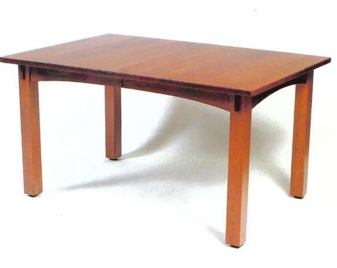 amish craftsman mission table