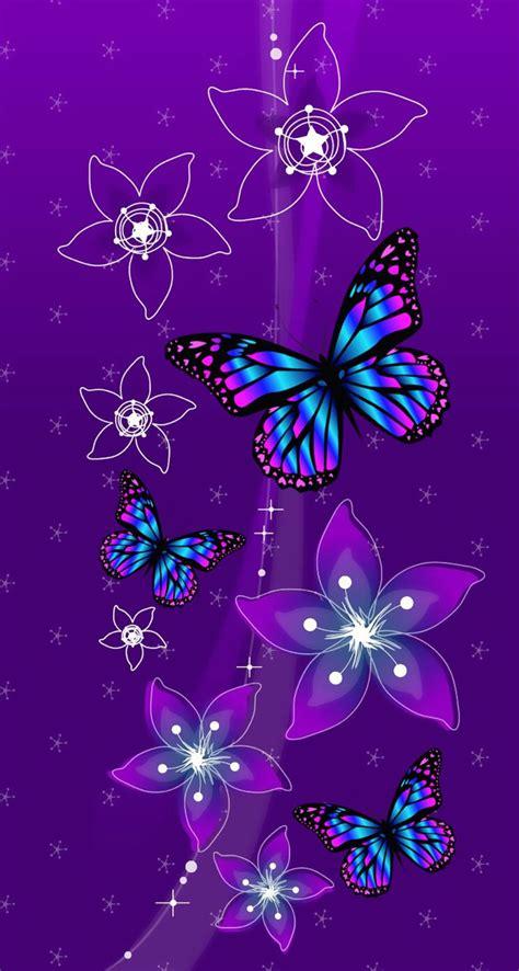 imagenes mariposas hermosas moradas mariposa y flores bonitas y moradas pretty purple