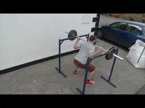How To Make A Squat Rack by Squat Rack And Dip Station
