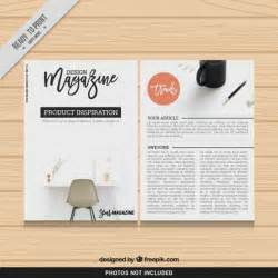 Magazine Templates by Design Magazine Template Vector Free