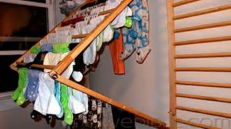 Wall Mounted Clothes Dryer Rack Diy Wall Mounted Folding Clothes Dryer Rack Lifehacker
