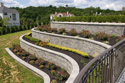 techo bloc walls mini creta  lincoln  landscape supply