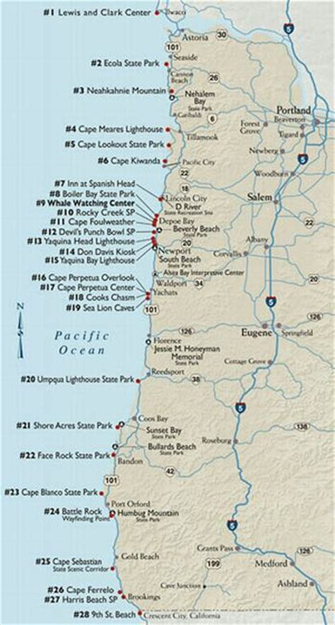 map of oregon national parks winter whale now underway along the oregon coast