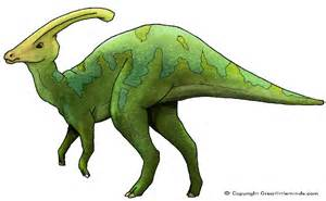 Dino Images Parasaurolophus Pictures Facts The Dinosaur Database