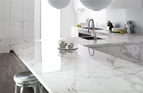 Trend to Watch 2017: White Marble Countertops