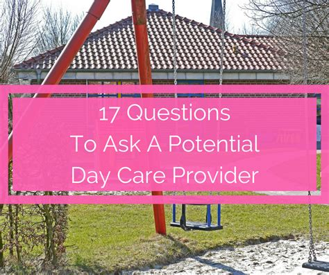 17 questions to ask a day care provider spit up and sit ups