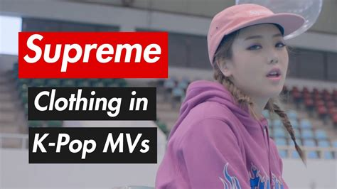 supreme clothing buy supreme clothing in k pop mvs