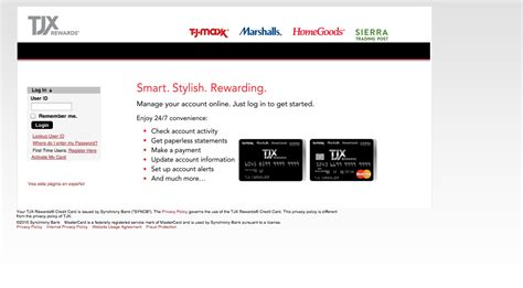 tj maxx credit card make a payment tj maxx credit card login make a payment