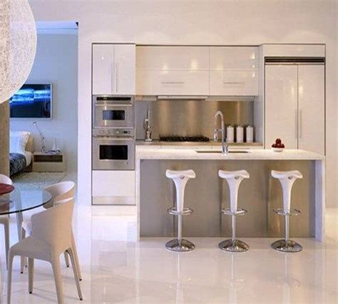modern nice design of the modern apartment kitchen design
