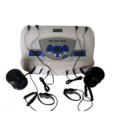 Ionic Detox Machine India by Professional Dual Detox Foot Spa Machine Buy Professional