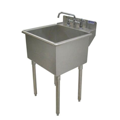 stainless steel utility sink griffin products lt series 24x24 stainless steel