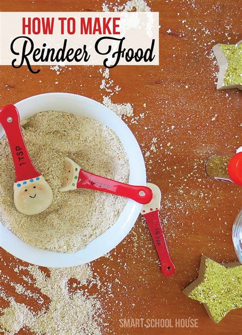 How To Make Holiday Crafts - how to make reindeer food
