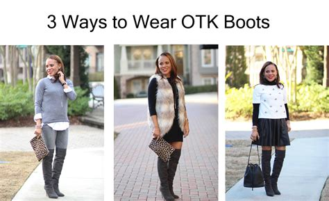 Would You Wear The Knee Boots by 3 Ways To Wear The Knee Boots To The Nines