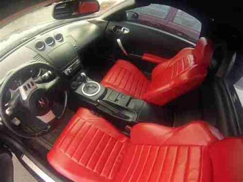 custom nissan 350z interior buy used 2005 nissan 350z convertible custom interior