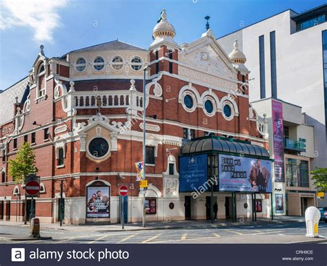 houses to buy in belfast the grand opera house belfast northern ireland front view of this stock photo