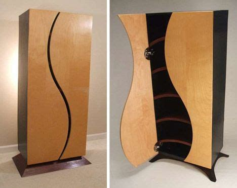 creative custom curved wooden bookcases dressers