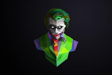 green joker wallpaper facets full hd wallpaper and background image 2160x1440