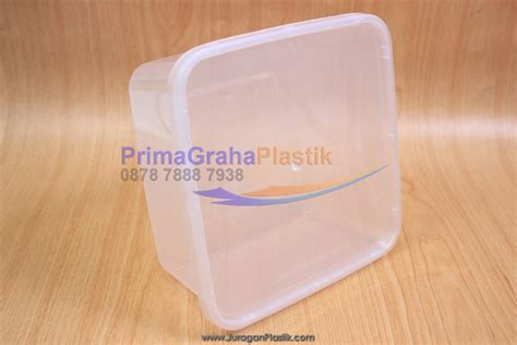 Freezer Kotak Crp Kotak Plastik Makanan 1500 Ml Sq Microwaveable Freezer Stock Indent Home
