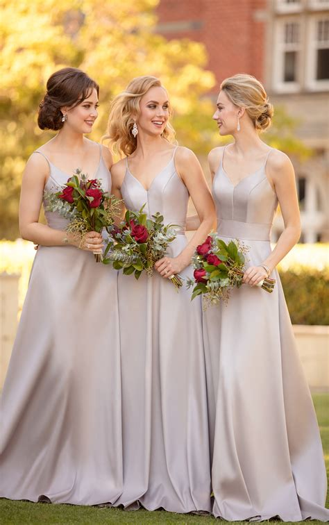 traditional bridesmaid dress sorella vita
