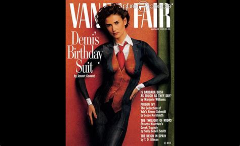 Demi Vanity Fair 1991 by Demi En Couverture De Vanity Fair En 1992