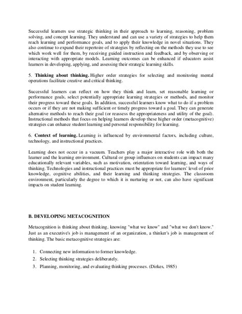 abstract thesis of metacognition metacognitive essay interview essay paper summary essays