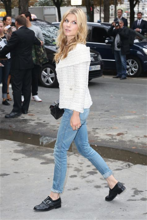 Heel W1398 New Arrival 9 Oct 2015 clemence poesy in pfw arrivals at chanel zimbio